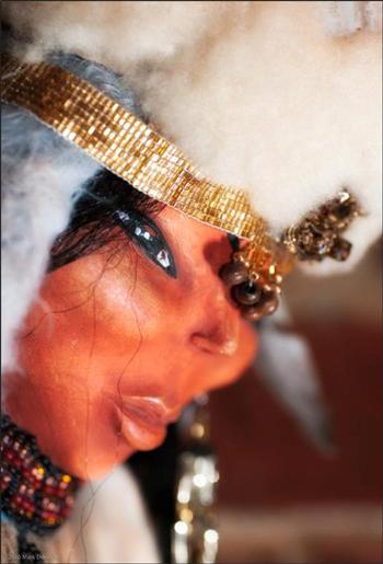 Swan Puppet. Handmade by Al-Lisa McKay
