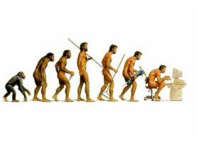 Image Credit: http://blaquesmith.wordpress.com/2011/10/28/the-evolution-of-man/