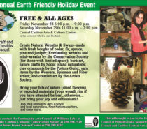 Spending Less and Making More out of Christmas with the 2014 Earth Friendly Holiday Event