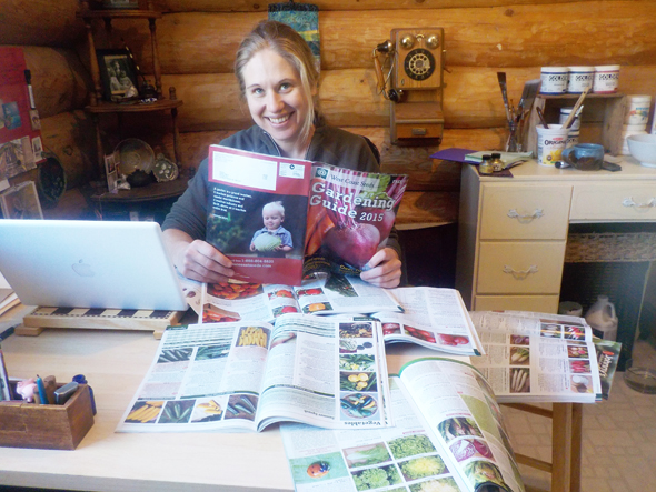 So many seed catalogues, so little time! Photo: Curtis Seeger