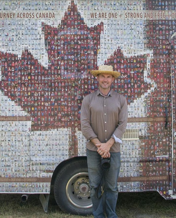 Tim Van Horn, photographer and creator of the Canadian Mosaic Project.