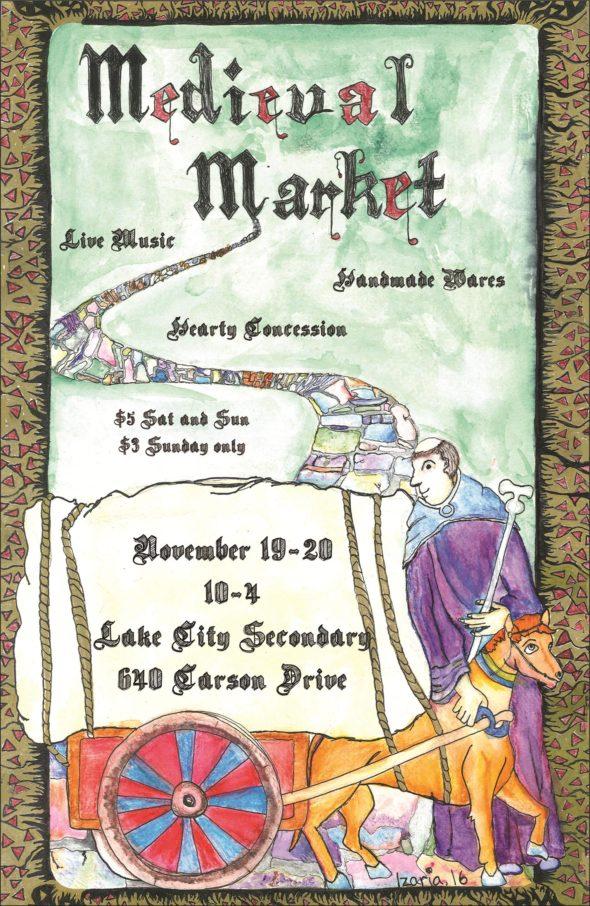 medieval-market-poster