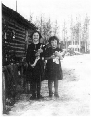 The Atamanenko sisters, with Gloria on the left. Photo submitted by Gloria Atamenenko