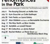 Performances in the Park 2017