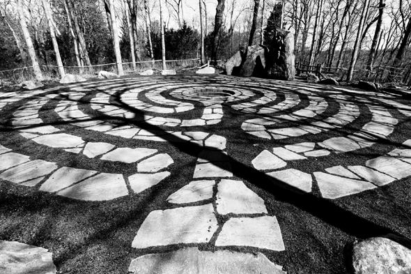 A labyrinth in New York, New York. Photo: RSLab Photography/www.flickr.com