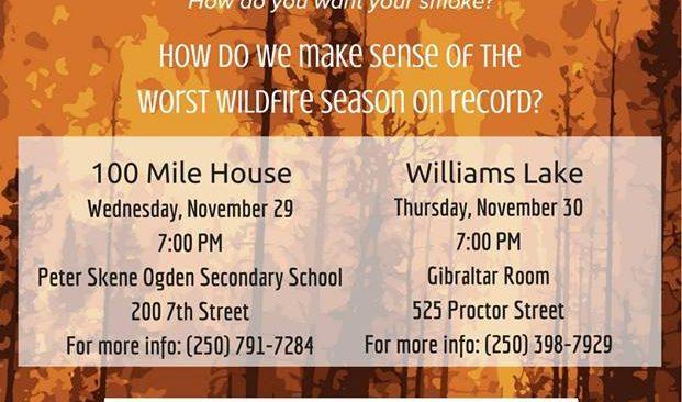 Era of Megafires: Public Events November 29 and 30