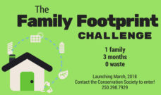 Conservation Conversation: Family Footprint Challenge Launching March 2018