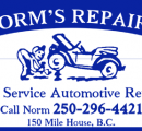 Norm's Repairs, 150 Mile House
