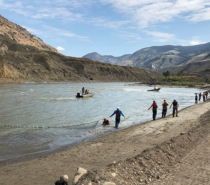 Fraser River Salmon in Trouble – Big Bar Landslide