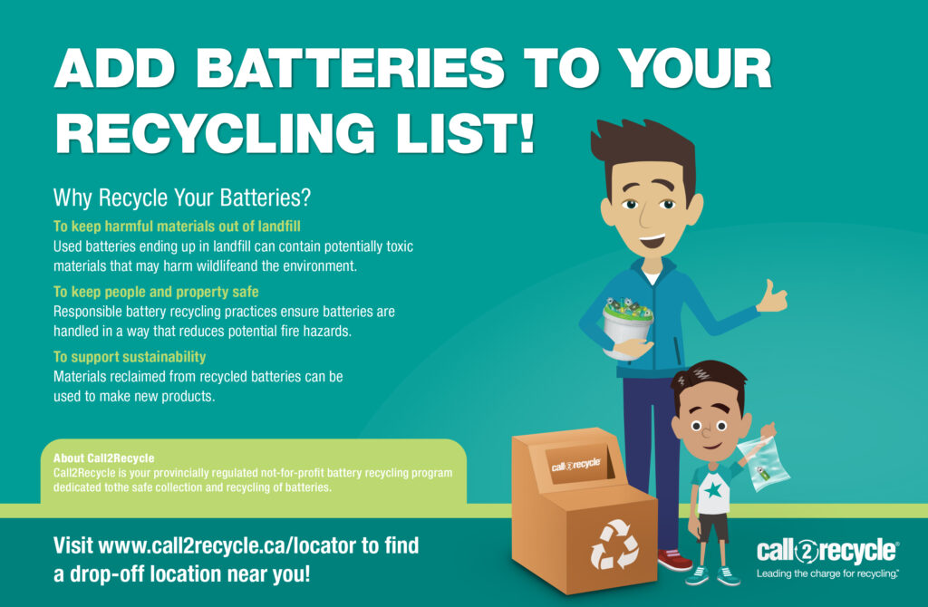 CRD Recycle Batteries