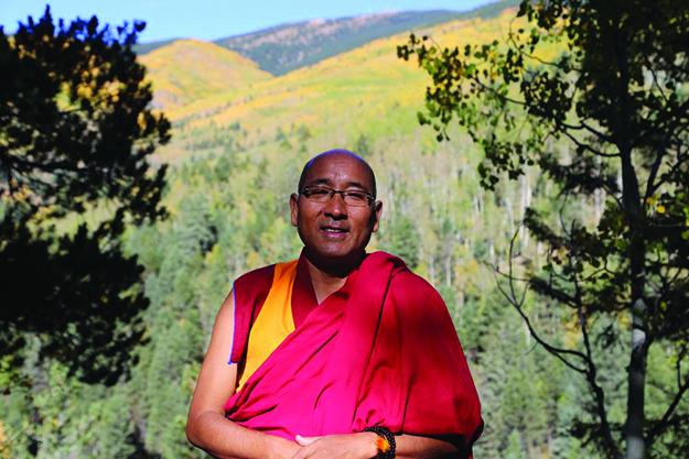 Buddhist Teacher, Geshe Sherab. Photo: www.geshesherab.com